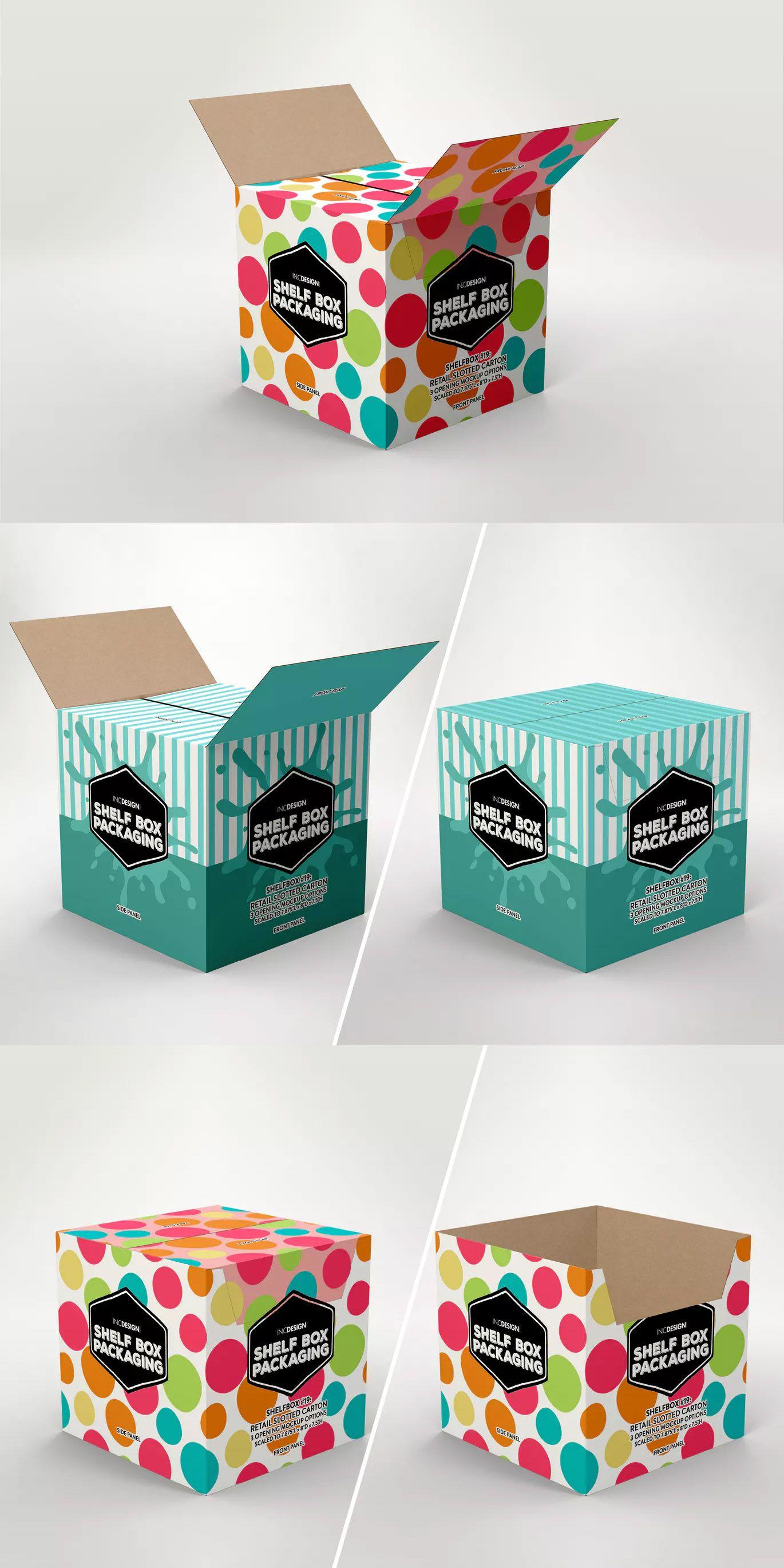 Download Retail Shelf Box 19 Packaging Mockup By Ina717 On Envato Elements Packaging Mockup Retail Shelving Mockup