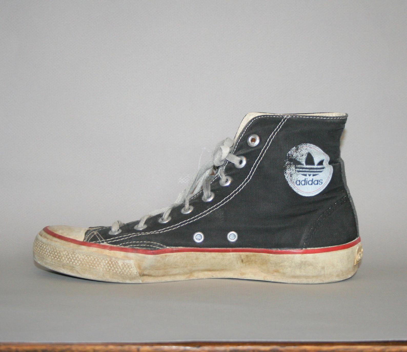 influenza Dinamarca fuego  80s ADIDAS SNEAKERS / Rare Chuck Taylor Style Hi-Tops 11 | Etsy | Adidas  sneakers women, Adidas sneakers, Shoes sneakers adidas