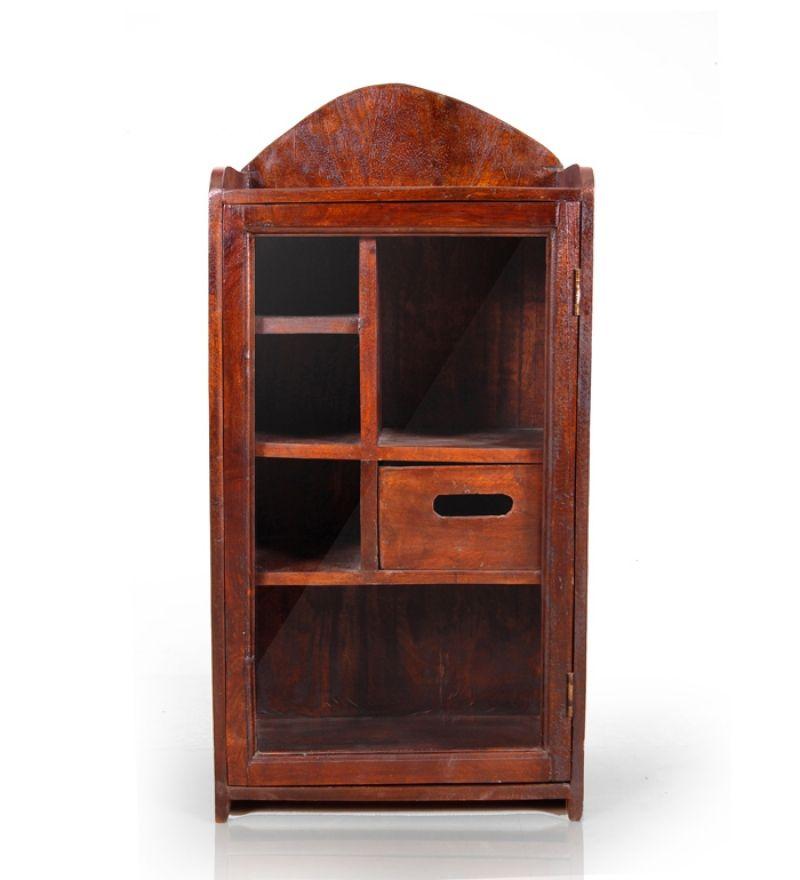 Mango Wood Compact Kitchen Cabinet Crockery Cabinets Pinterest
