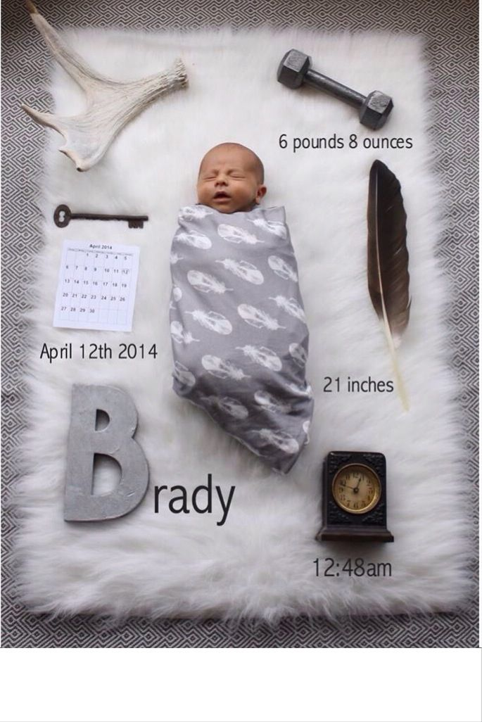 announcing birth of baby