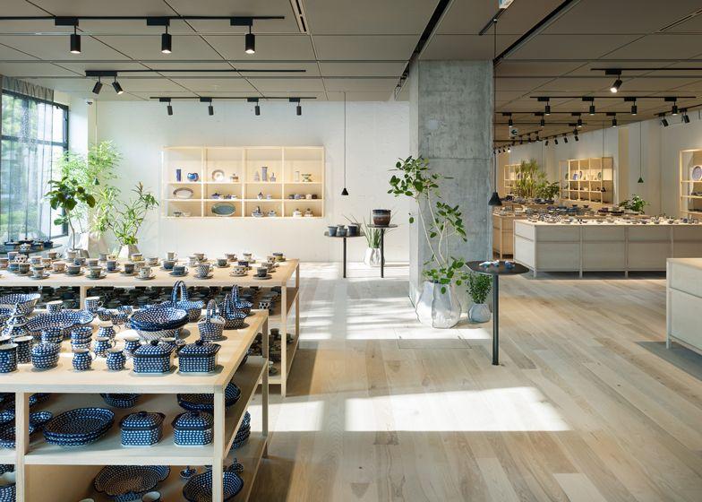Ceramika showroom by Claesson Koivisto Rune Architects