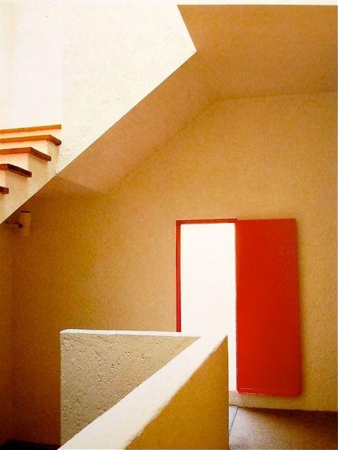 80s interior | Francisco Gilardi, Mexico City | Architecture by Luis Barragán