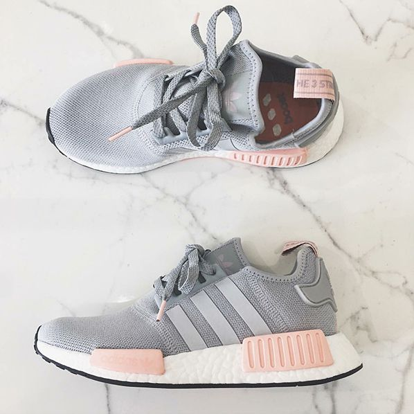 adidas originals nmd grau ros grey ros foto kellykimm instagram adidas fan for life. Black Bedroom Furniture Sets. Home Design Ideas