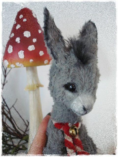 "PDF Instant Download - Pattern / E-Book Donkey "" BRICKLEBRIT "" :) - 9 Inch - by Eileen Seifert - Teddy-Manufaktur.de"