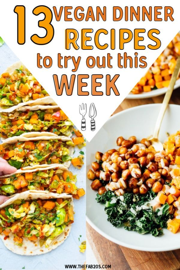 13 Plant-Based Dinner Recipe Ideas To Try This Week images