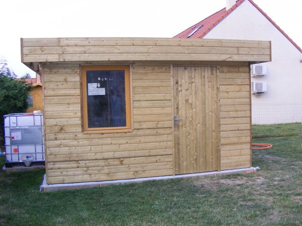 Je vous présente ici les différentes étapes de la réalisation de mon - plan de cabane de jardin