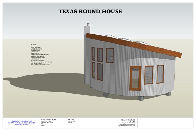 No 27 Round House The Small House Catalog Round House Plans Diy Tiny House Plans Round House