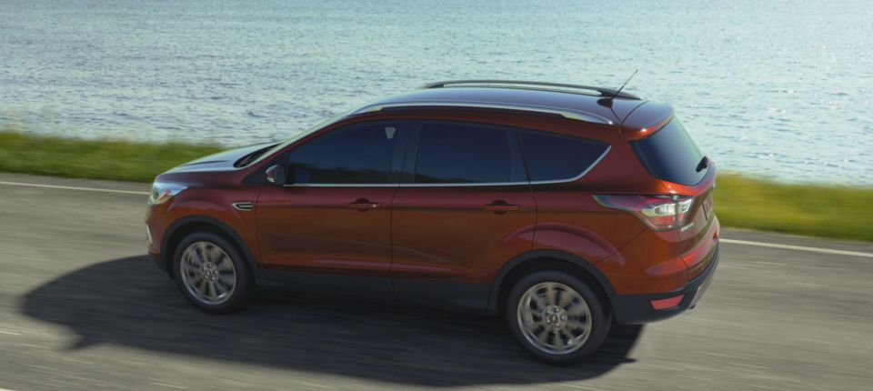 2017 ford escape suv 5star crash safety rating ford