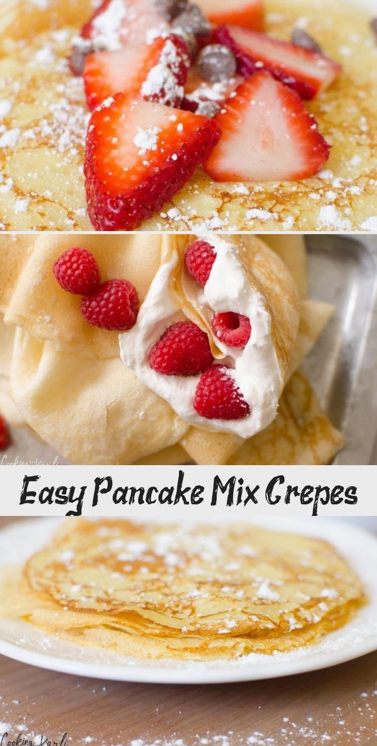 Easy Pancake Mix Crepes Easy pancake mix, Pancakes mix