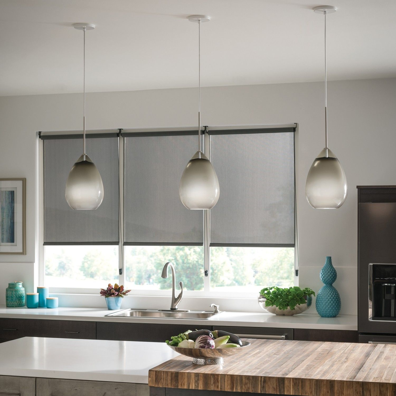 The Alina Grande Pendant Light Is An Elegant, Large Scale Glass Pendant  That Is Masterfully