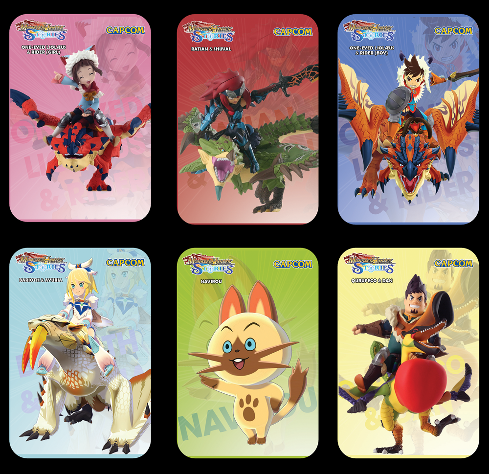 Fan Of Monster Hunter Well You Will Love These Amiibo Cards For The Switch Wii U And 3ds Monster Hunter Monster Hunter World Monster