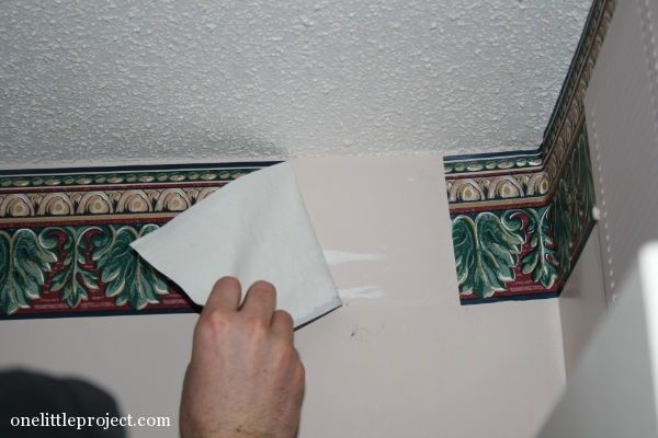 How To Remove A Wallpaper Border Home Improvements