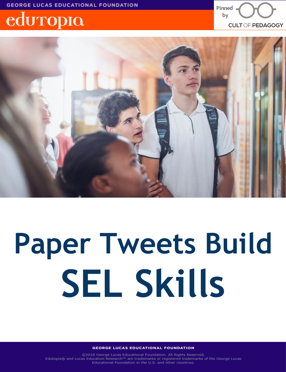 Building Sel Skills Through Formative >> Paper Tweets Build Sel Skills Social Emotional Learning Social