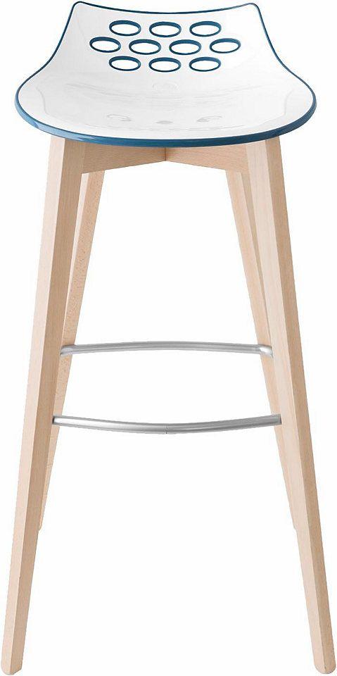 Connubia By Calligaris Barhocker »CB/1487 Jam W«, Trendiges Design Mit  Zweifarbiger Sitzschale