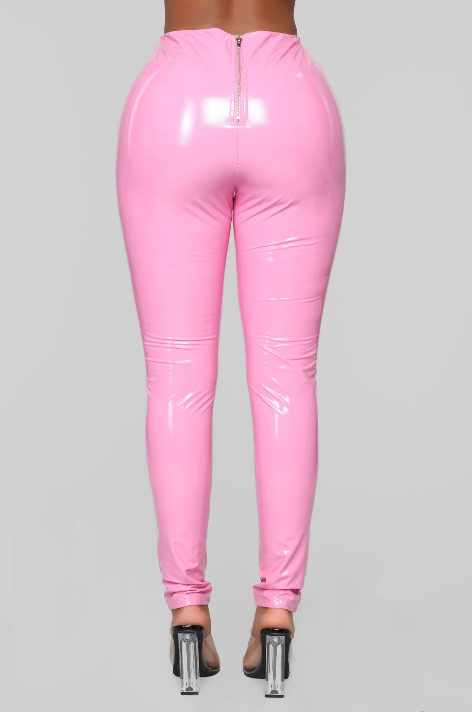 3837232dcc3 Brand Spanking New Vinyl Pants - Pink