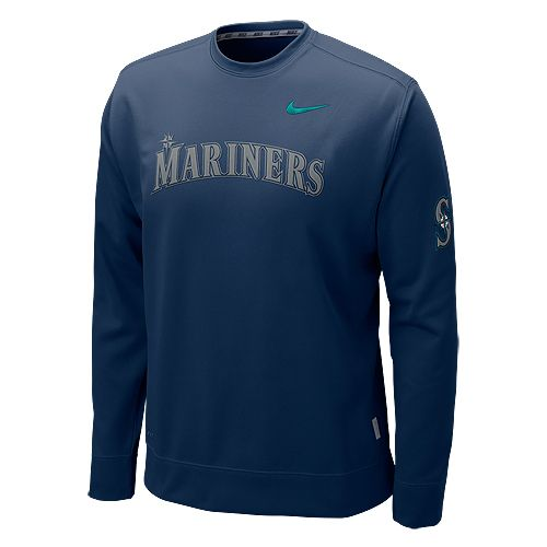 Seattle #Mariners KO Therma-FIT Crew Sweatshirt by Nike $54.99