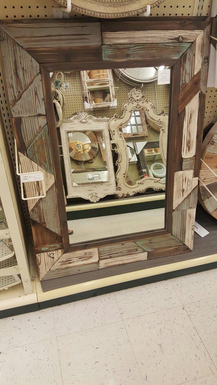 Hobby Lobby Barnwood Mirror Hobby Lobby Mirrors Hobby Lobby Barn Wood