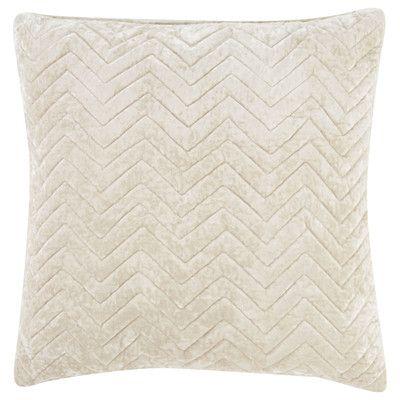 Jaipur Living Cosmic By Nikki Chu Quilted Chevron Pattern Throw Pillow