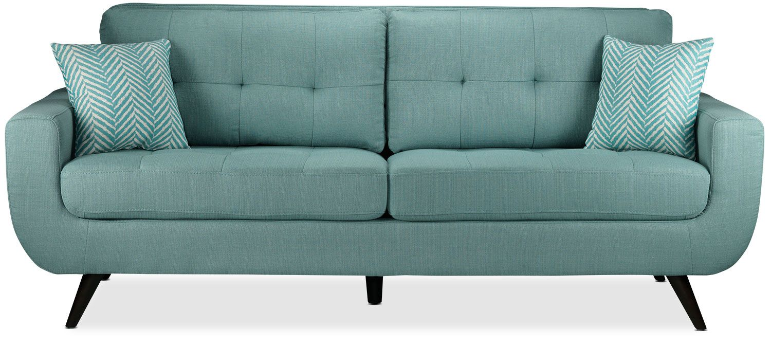 The Julian Sofa Offers A Modern Update To Classic Mid