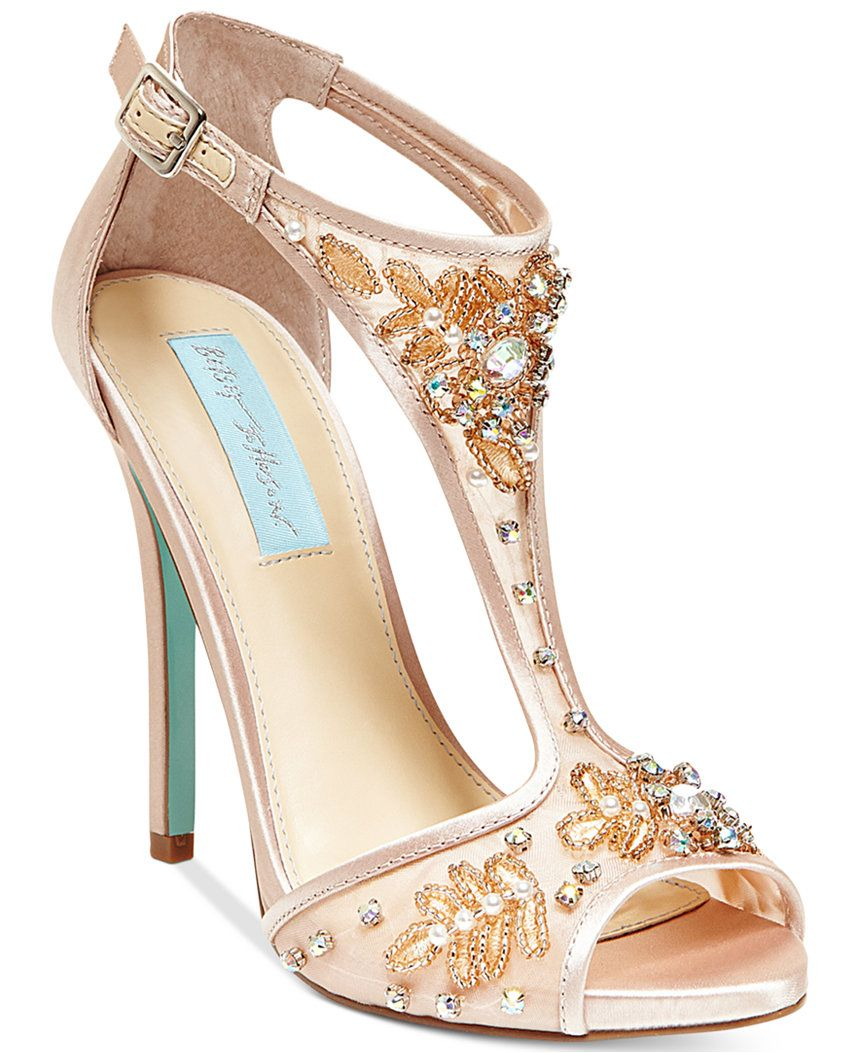 9de26ffa41e Blue by Betsey Johnson Holly Evening Sandals - Sale   Clearance - Shoes -  Macy s