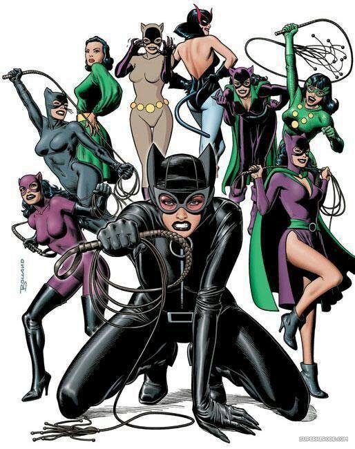 sc 1 st  Pinterest & Catwoman Costume History | D.C | Pinterest | Comic Batman and Gotham