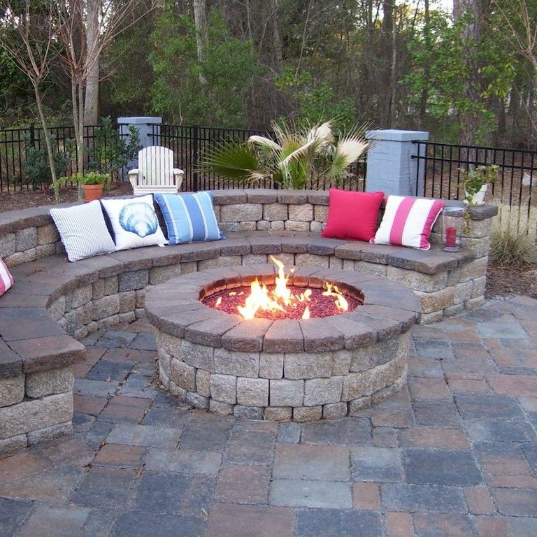 76 Marvelous Diy Fire Pit Ideas And Backyard Seating Area Fire Pit Backyard Fire Pit Patio Backyard Fire