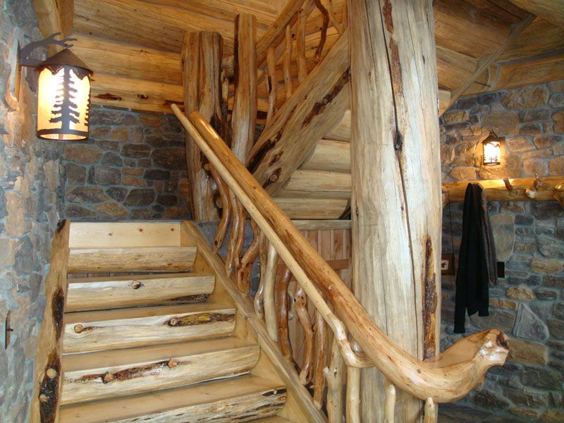 Cabin staircase | Cabin Daydreaming | Pinterest | Cabin ...