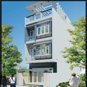 thiết kế nhà đẹp kết hợp không gian xanh