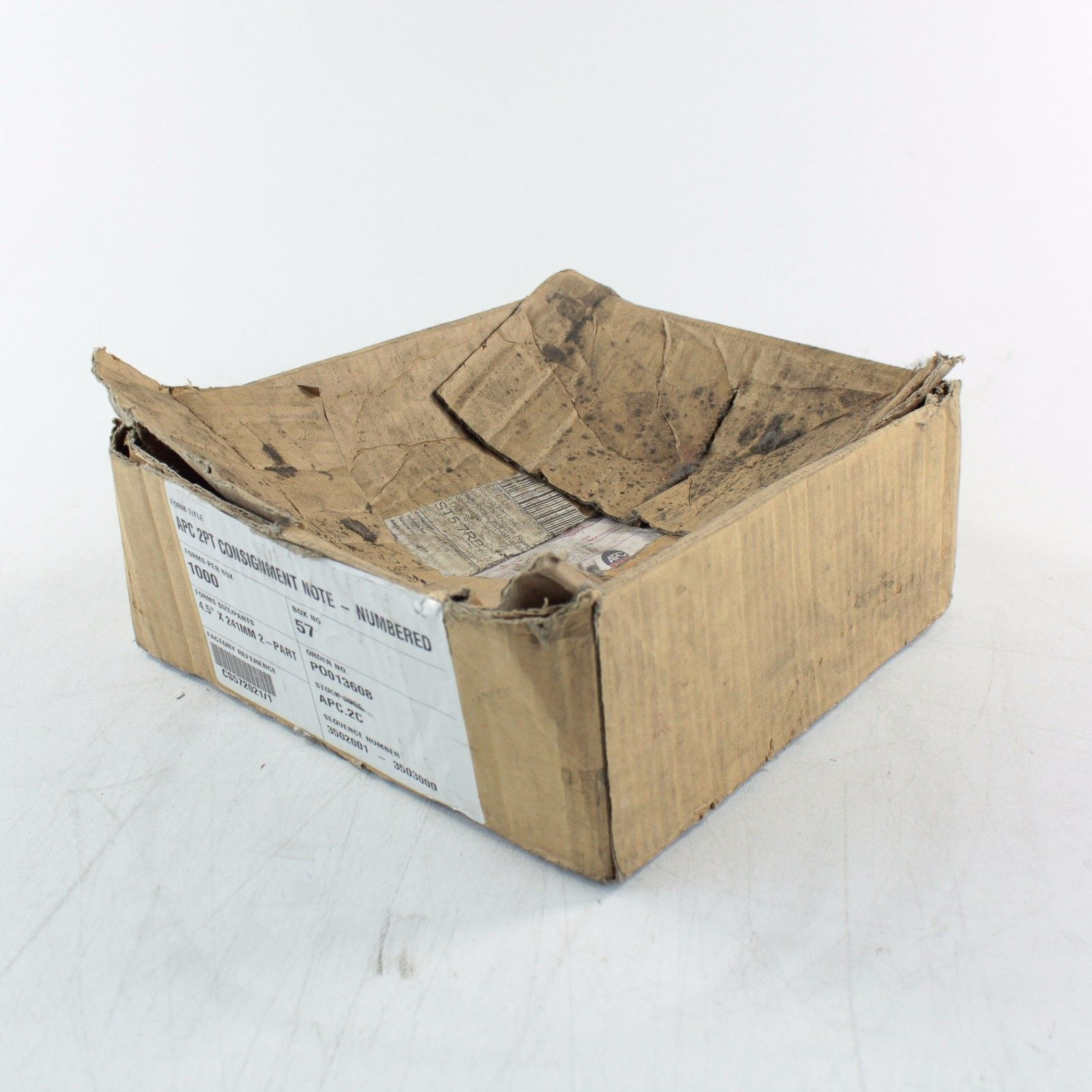 A Box Containing A Quantity Of Apc Overnight  Part Consignment