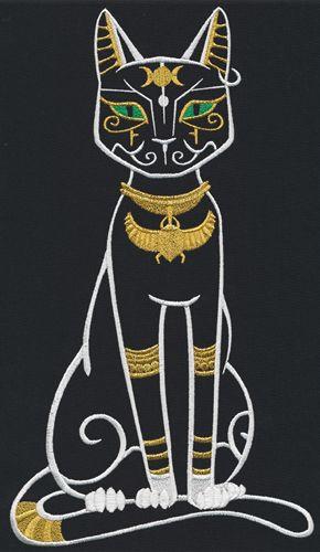 Bastet Egyptian Cat Goddess Egyptian Cats Egyptian Drawings