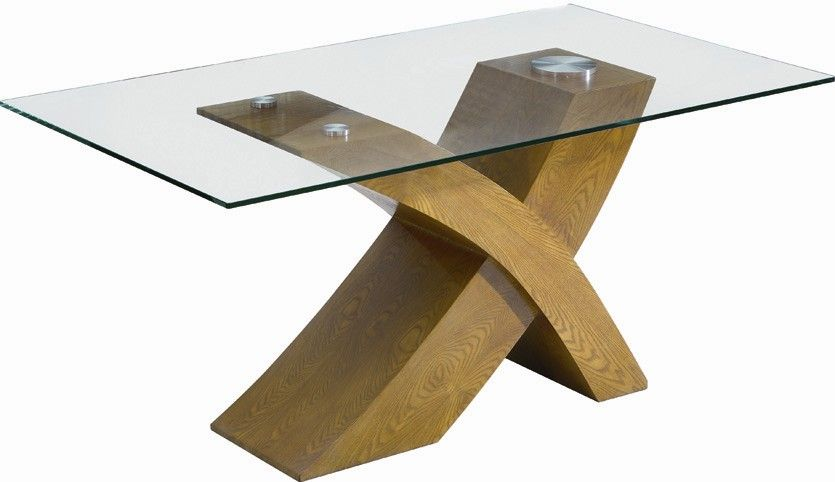 Glass Top Wood Base Dining Table Wood Base Dining Table Wood
