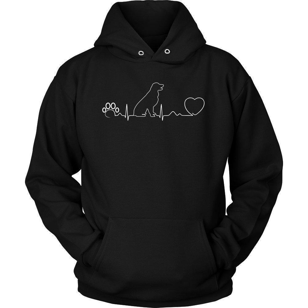 tee Dog Make Your Heart Beat fasters Love Dog Unisex Sweatshirt