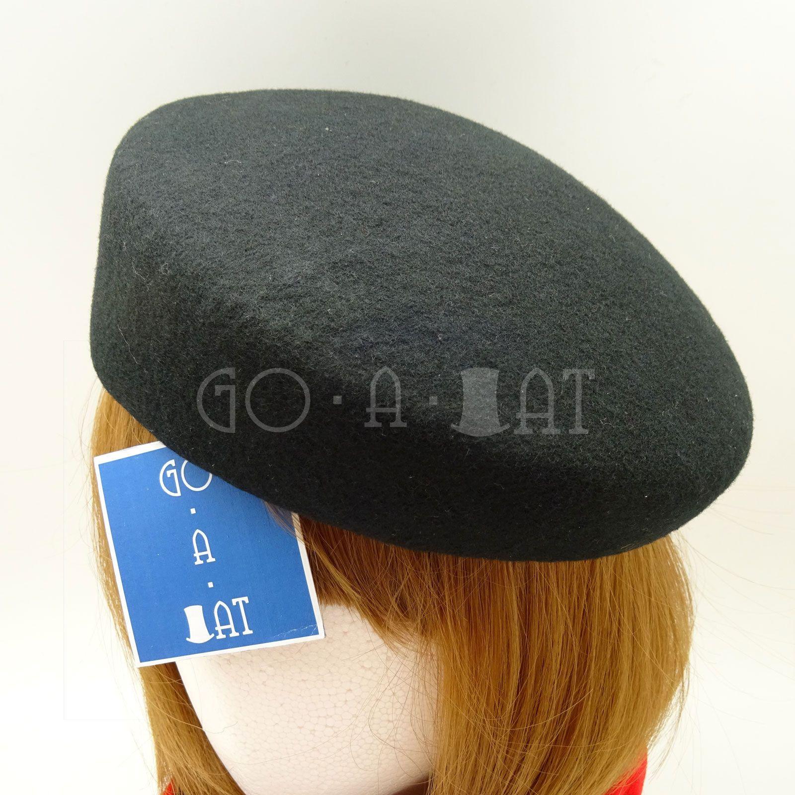 8e85047c93c Classic Wool Felt Women Plain Cadet Military Pillbox Hat