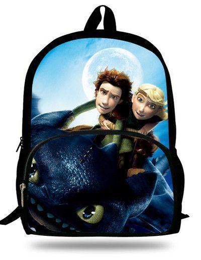 18c109e28e4d 16-inch Mochila Dragones Kids Bag Boys How to Train Your Dragon Backpack  Children School Bags ...