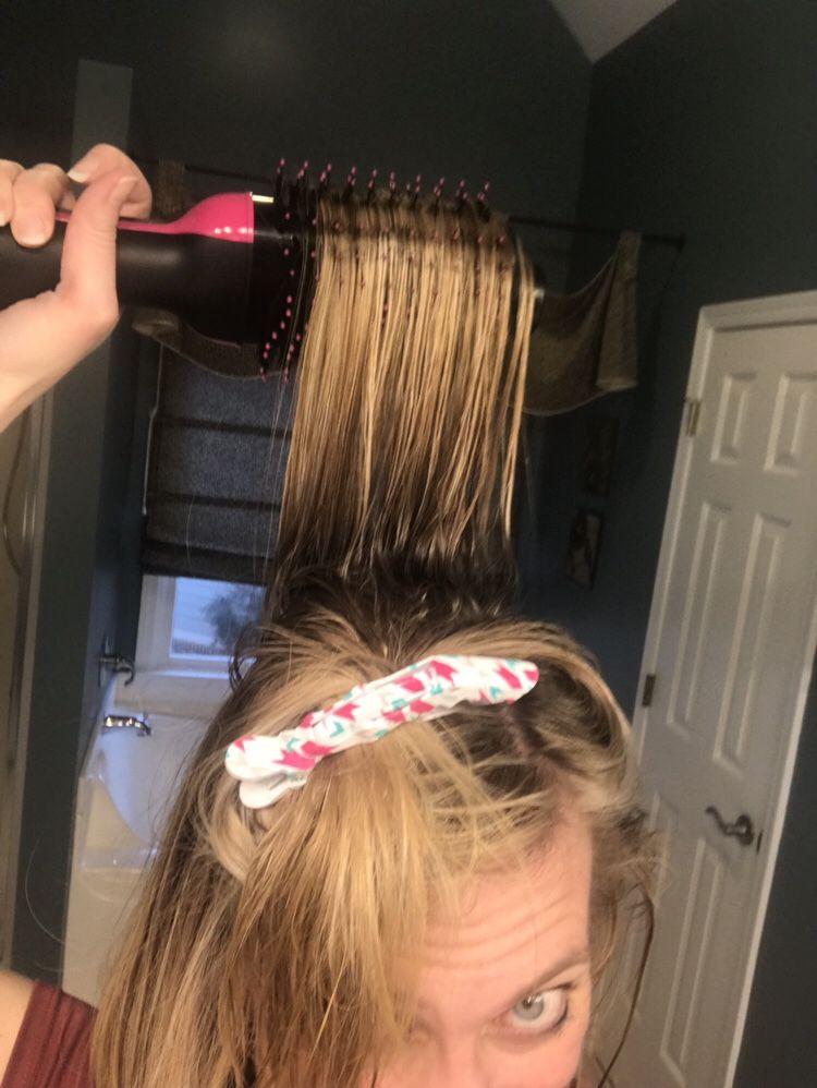 Revlon One Step Hair Dryer The Modern Mamanista Damp Hair Styles Best Affordable Hair Dryer Hair