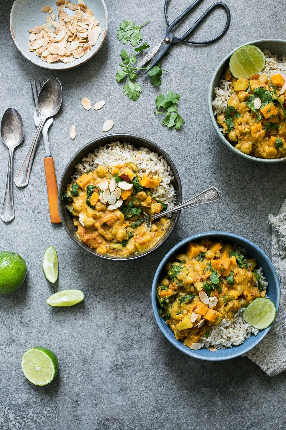Sweet Potato Chickpea Spinach Coconut Curry From Oh She Glows Every Day Recipe Food Nutritious Meals Curry