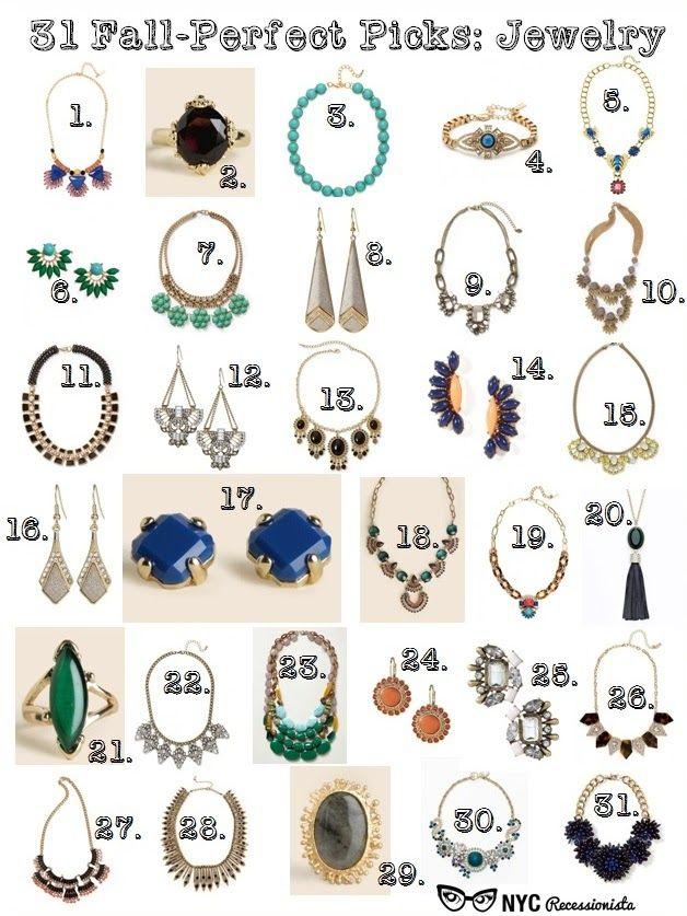 NYC Recessionista: DAY ONE: NYC Recessionista's 31st Birthday Celebration - Jewelry
