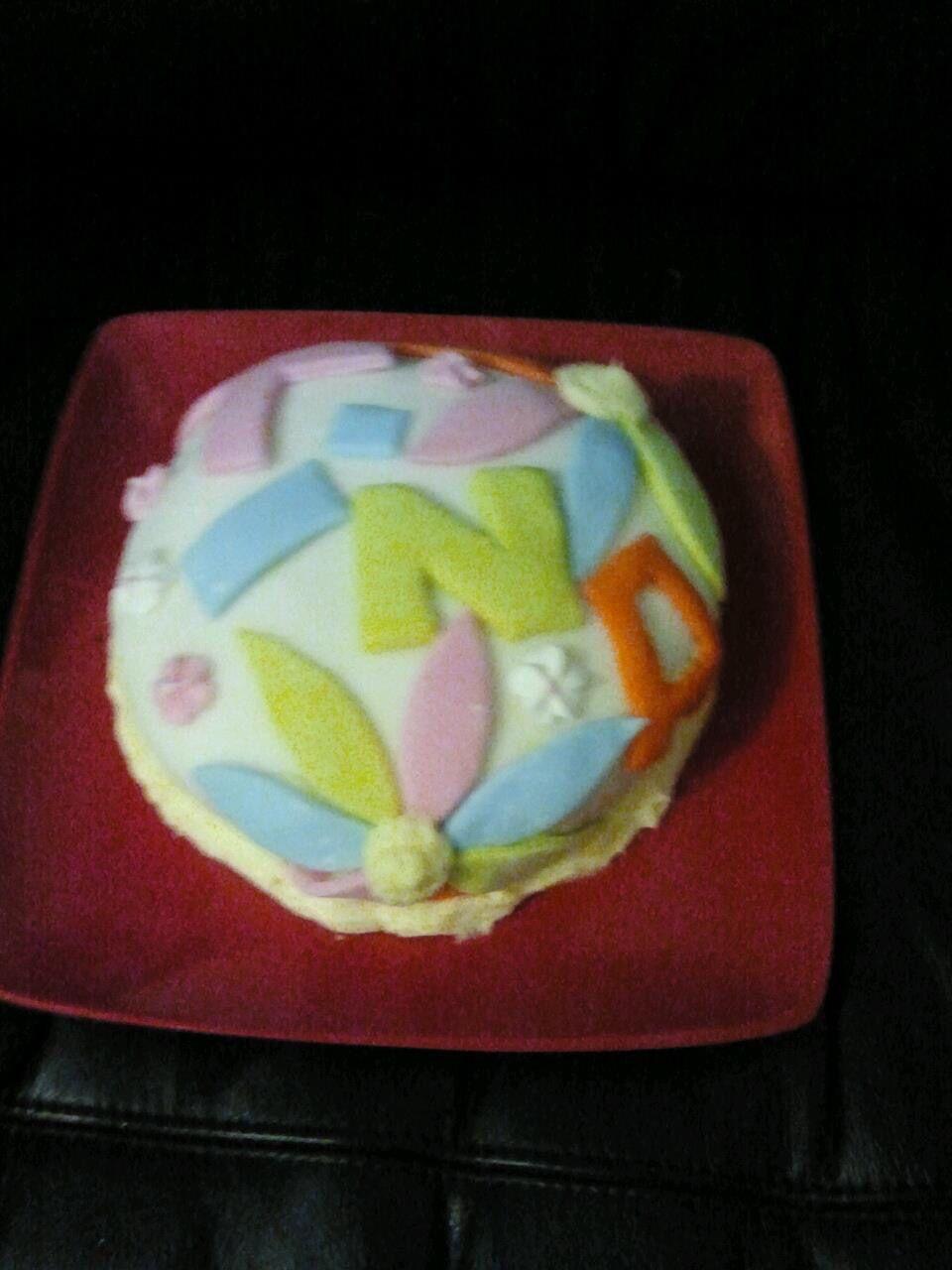 Tina's first birthday cake I ever made her