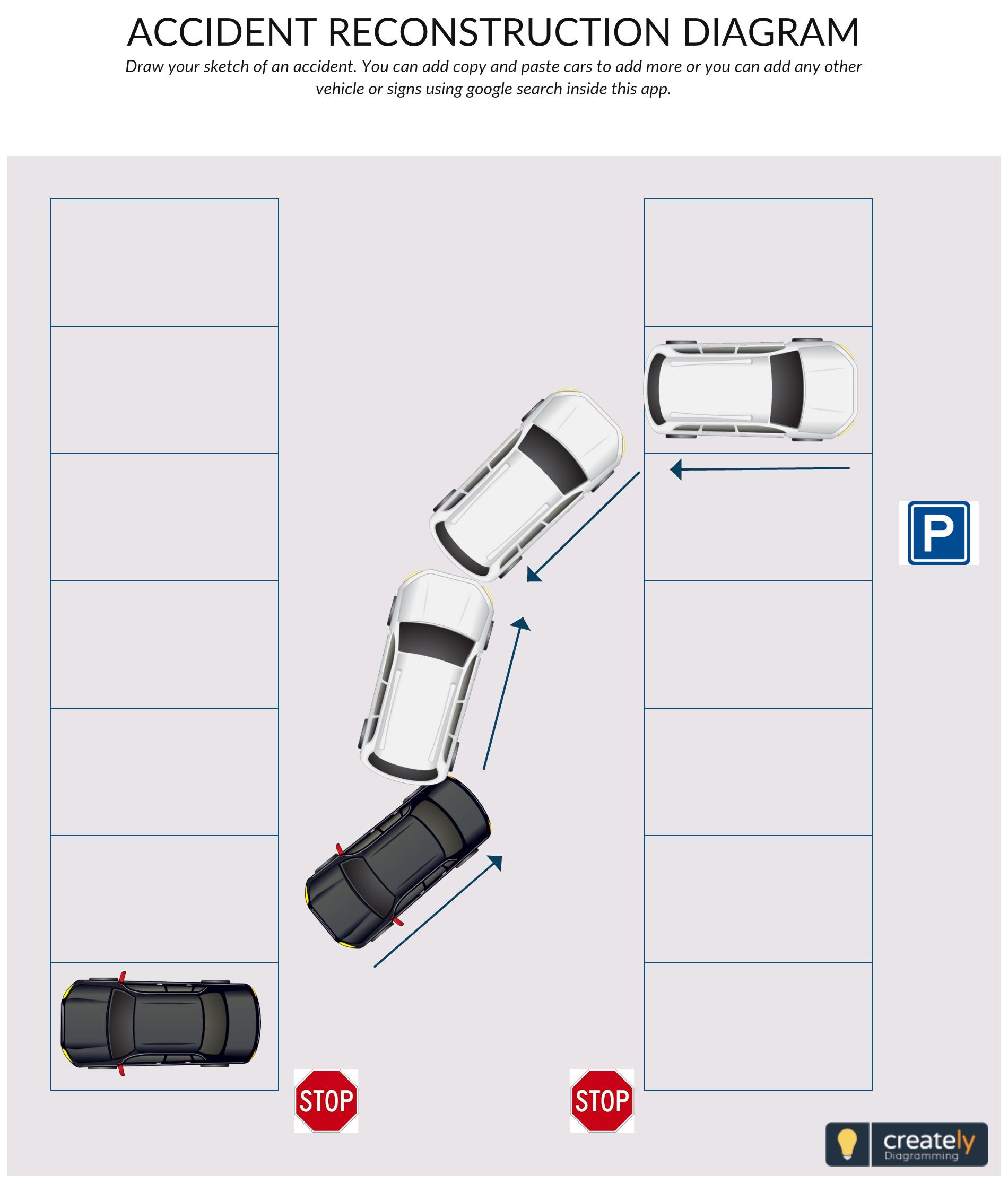 hight resolution of accident reconstruction diagram helps you sketch the sequence of events that lead to the accident and