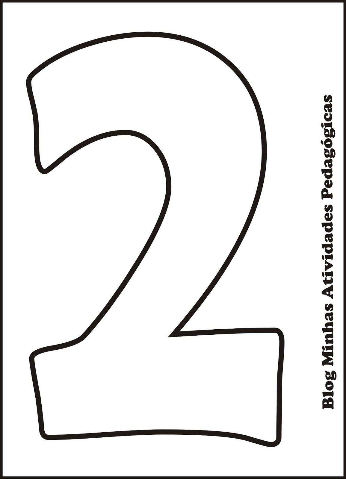 Moldes De Numeros Para Imprimir | uno | Pinterest