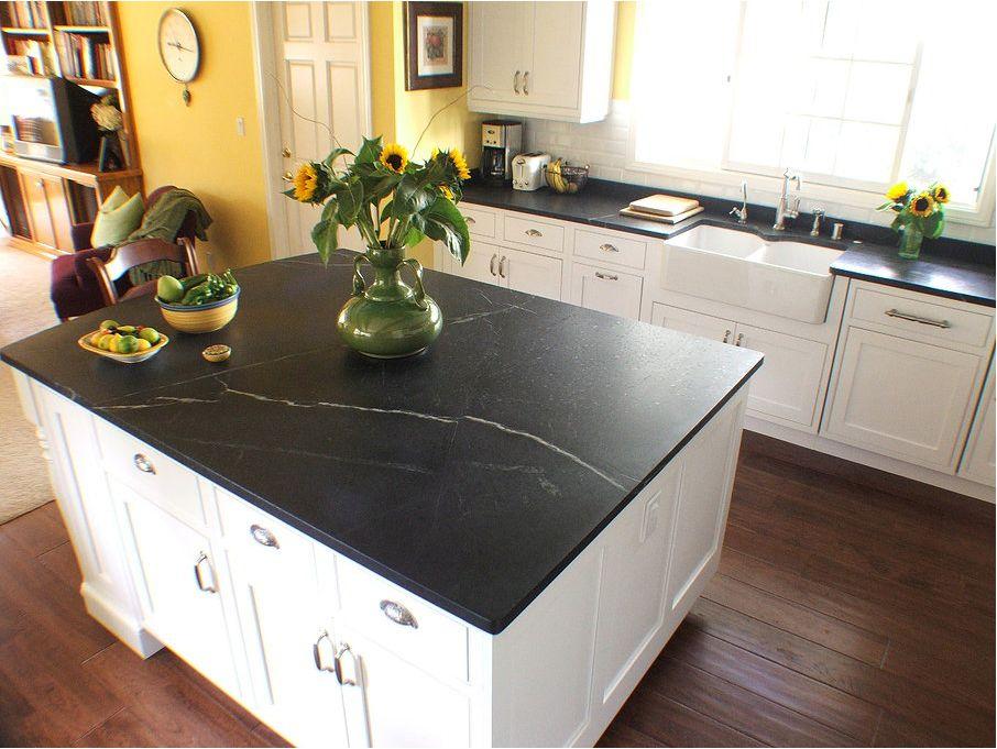 soapstone countertops | Kitchen ideas | Pinterest