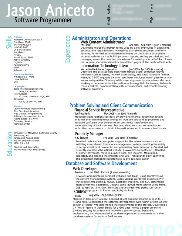 Pin by _ pear0 on Resumes Pinterest - active directory resume