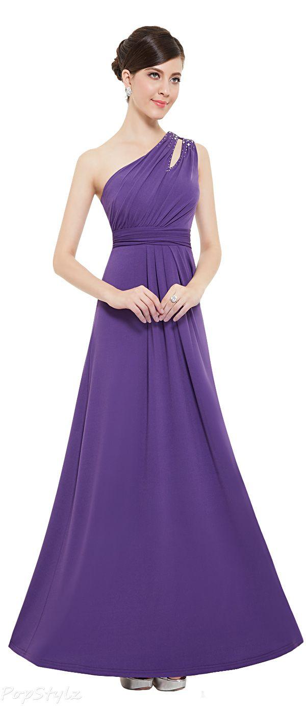 Ever Pretty 08497 One Shoulder Long Evening Gown | begendıklerım ...