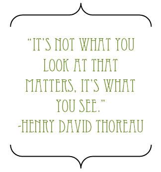 Love Thoreau.