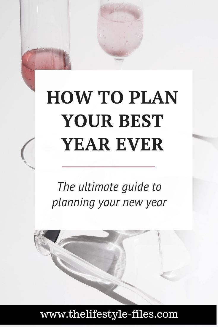 How I plan my year in advance - The Lifestyle Files #lifegoals