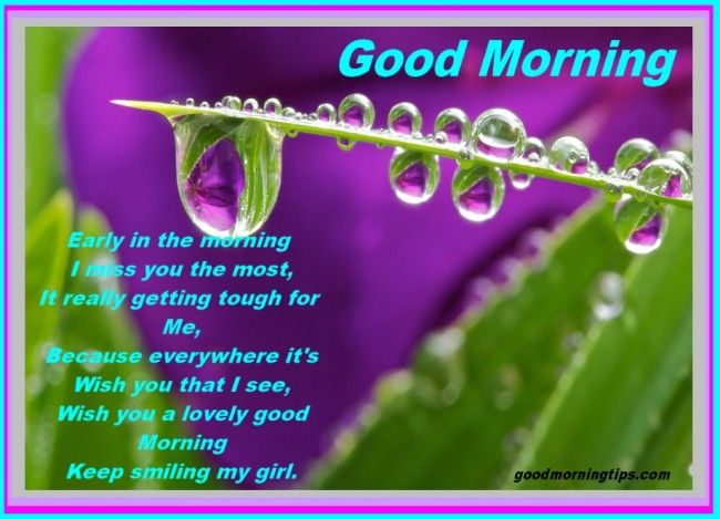Lovely Good Morning Messages For Girlfriend # ...