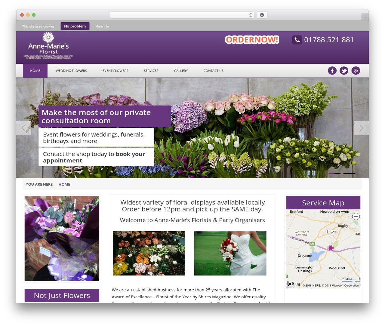 Html5 Blank WordPress Page Template Annemarieflorist Co Uk