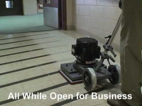 Square Strip Floor Machine Dry Floor Stripping Machine Youtube Floor Machine Strip Floors Flooring
