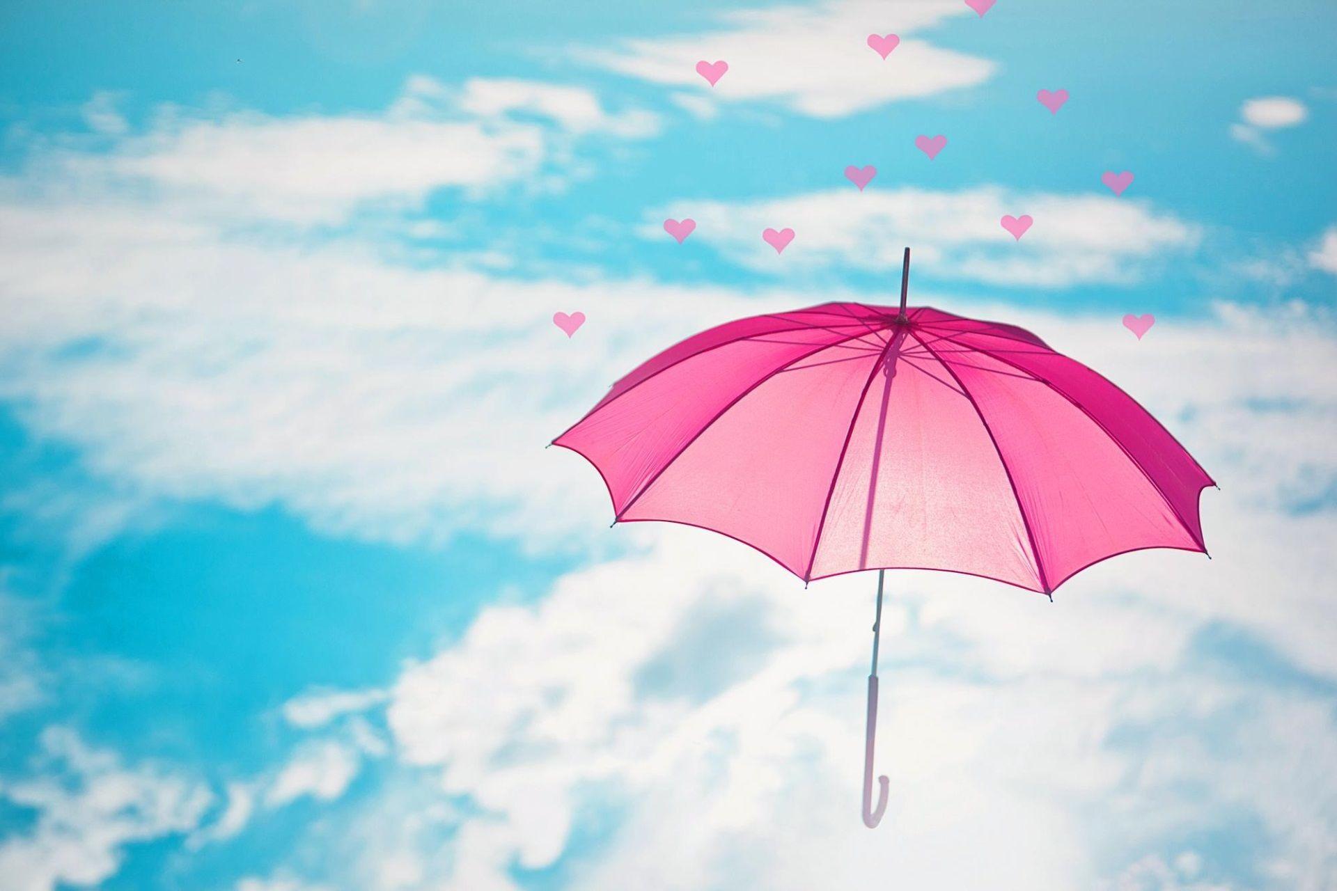 Обои картинки на рабочий стол с зонтиком