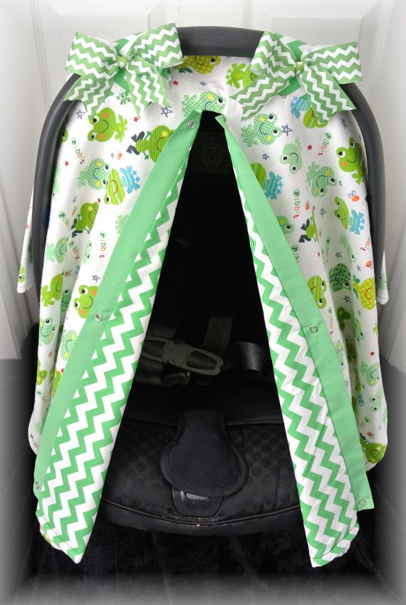 Flannel Car Seat Canopy Car Seat Cover Lime By Jaydenandolivia 39 99 Baby Themes Baby Love Carseat Cover
